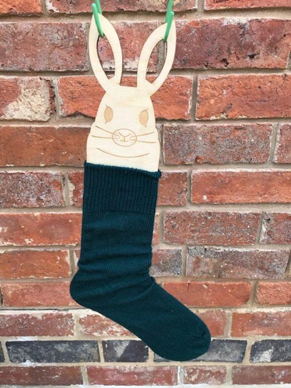 Forest Green Mohair Everyday Socks