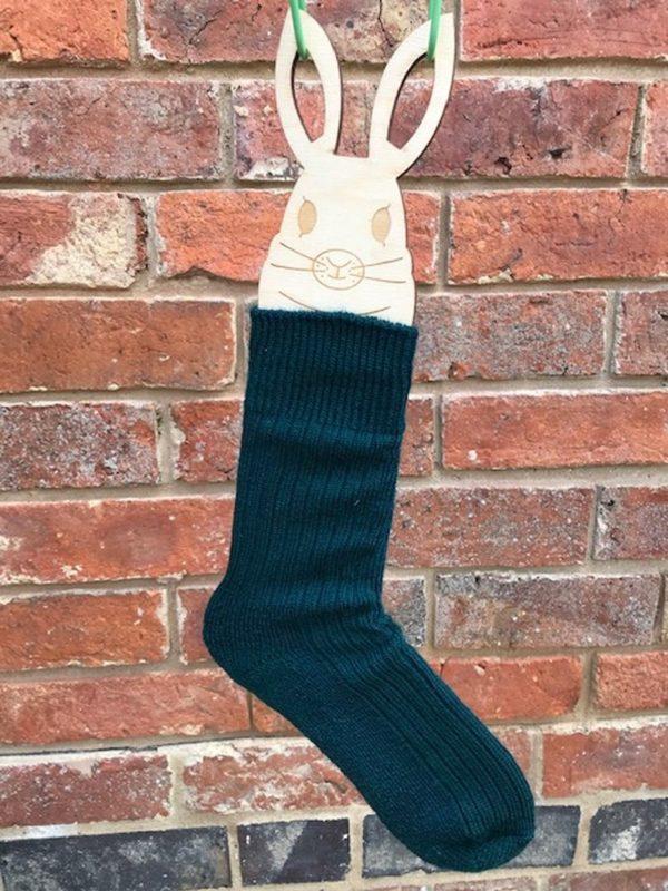 Forest Green Mohair Walking Socks