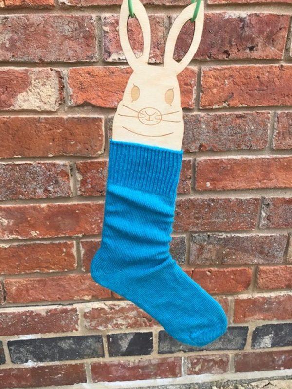 Turquoise Mohair Everyday Socks