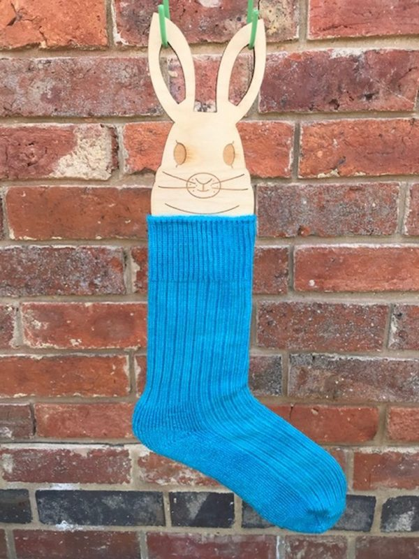 Turquoise Mohair Walking Socks