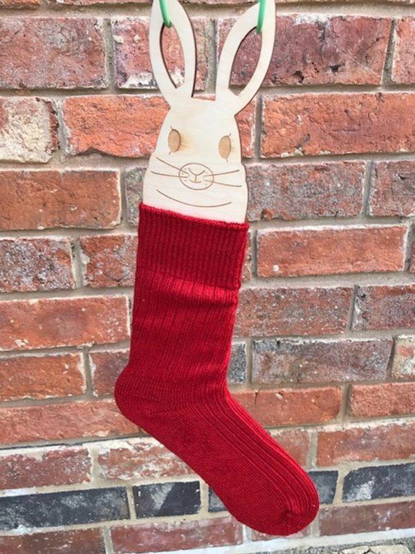 Crab Apple Red Mohair Walking Socks